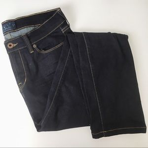 Lucky Brand brooke straight dark wash stretch jean